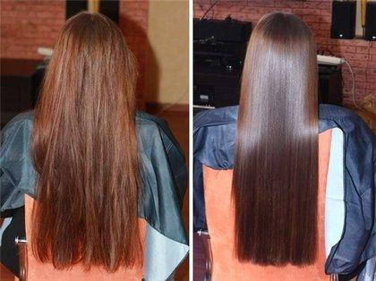 выпрямление волос кератиновое фото
